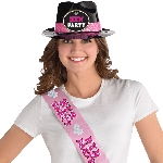 Gorro Hen Party Plastic Fedora Hat