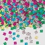 Confeti Number 18 Multi Colour Metallic 14g