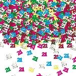 Confeti Number 21 Multi Colour Metallic 14g
