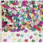 Confeti Number 60 Multi Colour Metallic 14g
