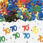 Confeti Number 70 Multi Colour Metallic 14g