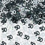 Confeti Black/Silver 50 Metallic 14g
