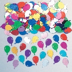 Confeti Balloons Multi Coloured Embossed Metallic 14g