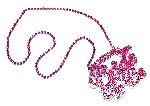 Acc Disfraz Hen Party Bride to be Necklace