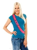 Banda Hen Party Bridesmaid Sequin Sash