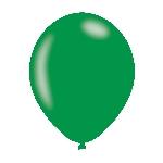 Globos Verde - Látex Metálico 11''