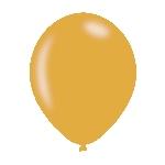 GLOBOS LATEX PK10 27CM PEARL GOLD