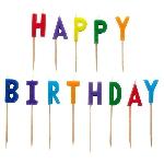 Vela Happy Birthday Pick