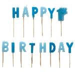 Vela 1st Birthday Boy Blue Pick