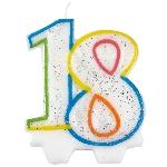 Vela Milestone Birthday 18th - 7.5cm