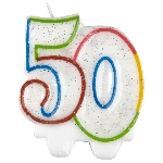 Vela Milestone Birthday 50th - 7.5cm