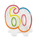 Vela Milestone Birthday 60th - 7.5cm