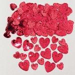 Confeti Loving Hearts Ruby Embossed Metallic 14g