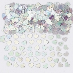 Confeti Sparkle Hearts Iridescent Metallic 14g