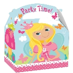 Caja Woodland Princess Party 15cm x 10cm x 17cm