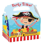 Caja Little Pirate Party 15cm x 10cm x 17cm