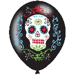 "HWN 11"""" 4 col Day of the Dead  """