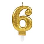 Vela Gold Metallic Finish Nº6