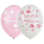 GLOBO LATEX:6pk 11in Communion Pink