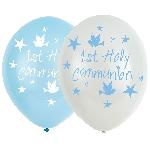 GLOBO LATEX:6pk 11in Communion Blue