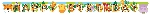 Banderin Jungle Friends Letter 1.7m x 13cm