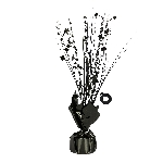Peso Black Spray Centrepiece Balloon s 30cm/150g