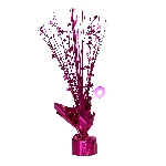 Peso Bright Pink Spray Centrepiece Balloon s 30cm