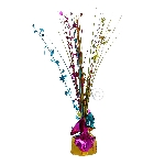 Peso Multi Colour Spray Centrepiece Balloon s 30cm