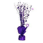 Peso Purple Spray Centrepiece Balloon s 30cm
