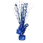 Peso Bright Royal Blue Spray Centrepiece Balloon s 30cm