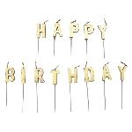 Vela Gold Happy Birthday Pick