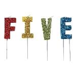 Vela Glitter Pick F-I-V-E