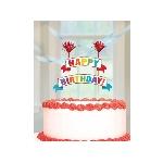 Tooper tarta Rainbow Cake Pick Banner