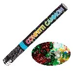 Confeti Multi Coloured Foil Cannons 58cm