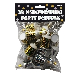 Confeti Holographic Party Poppers