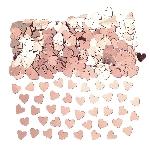 Confeti Hearts Rose Gold 14g