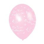 Globos Confirmation (Pink) Printed Latex Balloon - 11''/27.5cm