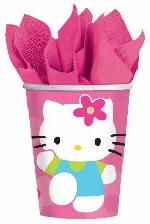 Vasos 266ml (8) Hello Kitty (OFERTA)