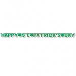 BANDERIN LETRAS ''ST. PATRICK´S DAY''