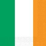PPP IRL FLAG SERVILLETAS MEDIANAS 33CM