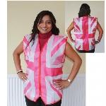 PPP GB Fabric Waistcoat - Rosa