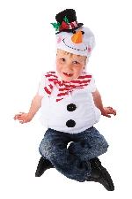 Disfraz niño Snowman