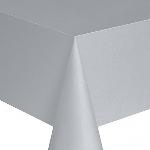 Mantel Silver w/able t/c 120x120cm