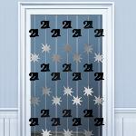 Decoracion Colgante Puerta:BLK/SILVER 21