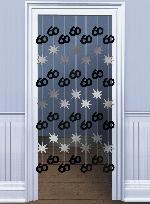 Decoracion Colgante Puerta:BLK/SILVER 60