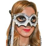 Disfraz Acc Halloween Skull Masquerade Mask