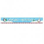 Banderin Joyful Snowman Foil 4.5m