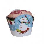 Capsulas Pastel Joyful Snowman 12