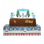Joyful Snowman Christmas Log s