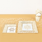 Shim Snowflake Table Runner